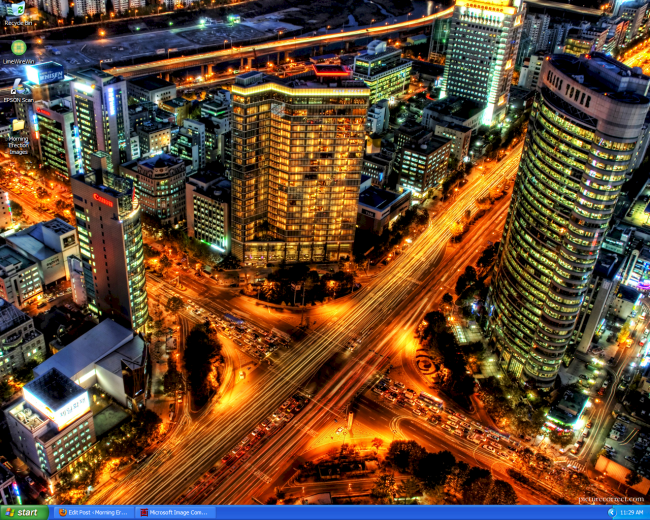 My Desktop Seoul, Korea