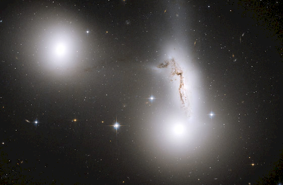 Three Galaxies