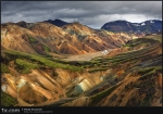 Iceland, Landmannalaugar Mountains
