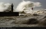 Storm in Oporto