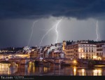 Thunderstorm Over Florence